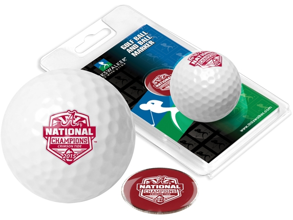 Suntime 2015 National Champtionship 1  Golf Ball and Marker by Suntime