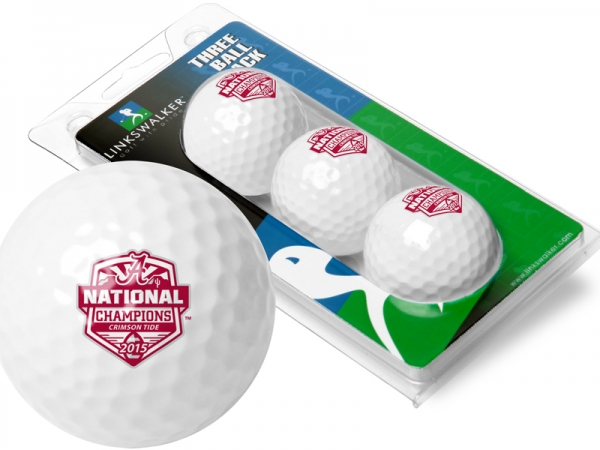 Suntime 2015 National Champtionship 3 Pack Golf Balls by Suntime